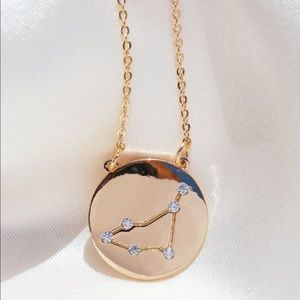 Capricorn Zodiac Constellation Pendant Necklace